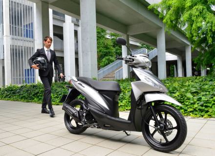 Suzuki Addres 110 Fi  europe 9
