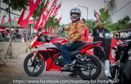 tesdtride all new Honda CBR150R Lokal
