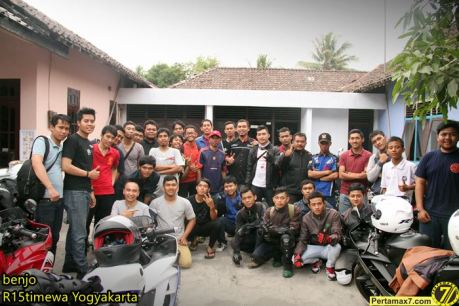 Touring Family R15 Istimewa Jogja Jelajah Ketep Pass pertamax7.com 2