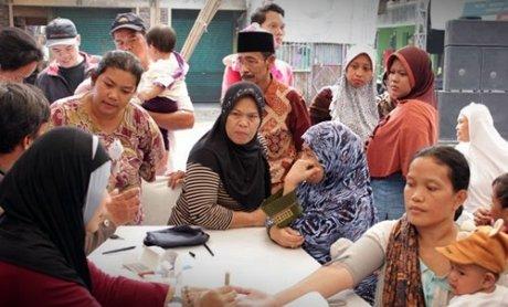 Warga di Bakti untuk Negeri 40 Tahun Yamaha Indonesia (2)