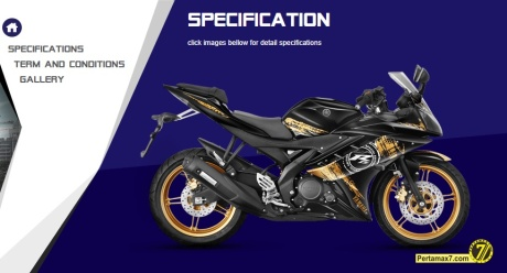 yamaha R15 special edition black gold with ohnlins