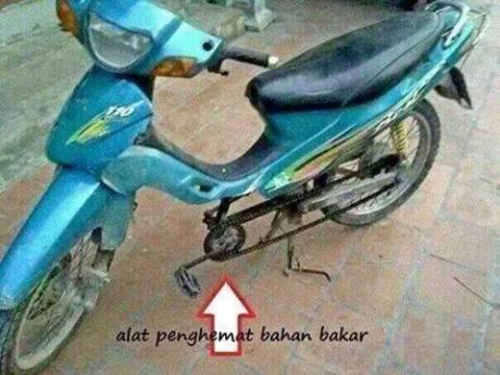 alat pengemat bahan bakar sepeda motor