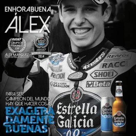 alex marquez World Champion moto3 2014 Honda
