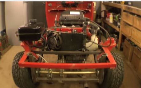 bajaj 3 roda pakai mesin cbr600 wheelie 8