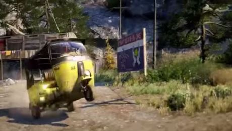 bajaj roda 3 wheelie di game far cry 4
