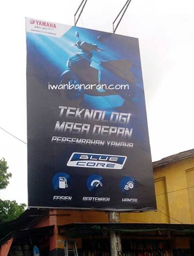 banner yamaha mio 125 blue core engine di tulungagung