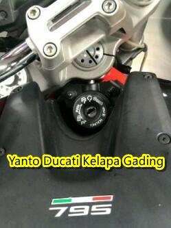 Ducati Monster mau dimaling pakai Kunci T