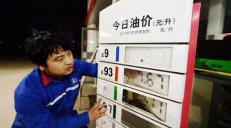 harga BBM di china turun 7 kali