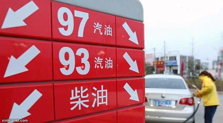 harga BBM di china turun