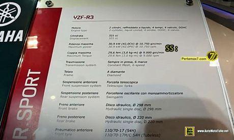 Harga yamaha R3 di Eropa 1