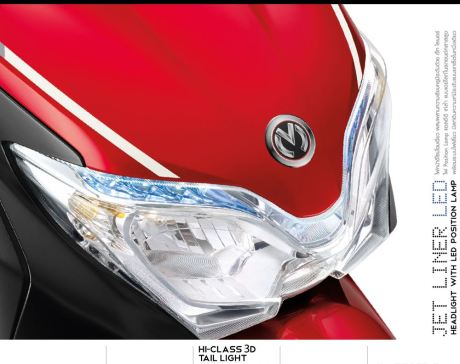 headlamp honda moove 110