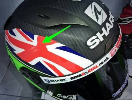 helm Scoot Redding tergores pasca head down