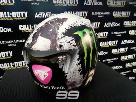 HJC Lorenzo Call Of Duty valencia 2014 2