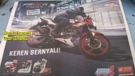 Honda CB150R special edition