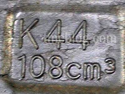Honda-K44 108 cc