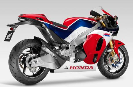 Honda RCV213V-S Road Bike Prototipe Studio 6