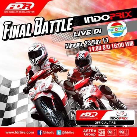 Indoprix Final battle Binuang Kalimantan