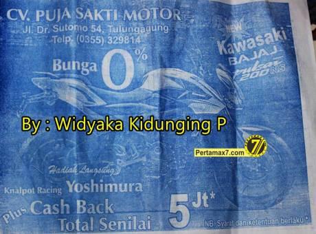 Kawasaki Bajaj Pulsar 200NS cash back Rp. 5 juta