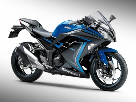 kawasaki ninja 250 FI blue japan special edition