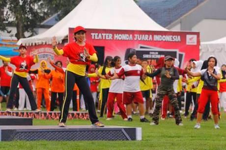 Kobarkan Semangat Pemuda Astra Motor Yogyakarta Gelar Honda Fiesta 2014 3