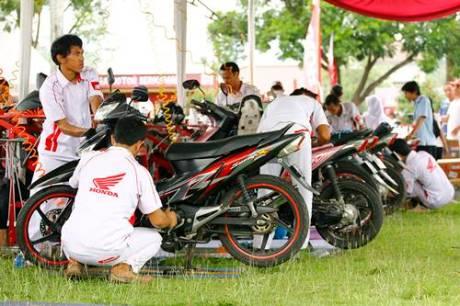 Kobarkan Semangat Pemuda Astra Motor Yogyakarta Gelar Honda Fiesta 2014 4