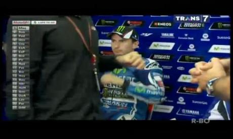 lorenzo out from motogp valencia 2014