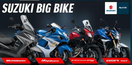 moge CBU Suzuki motor Indonesia