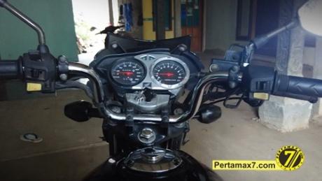 Pasang Stang tiger di Honda Megapro pertamax7 2