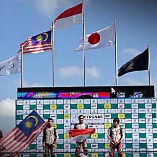 Pebalap AHM kibarkan Merah Putih di Asia Dream Cup 2014 4