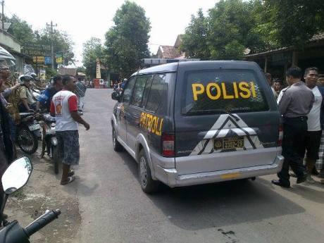 Pencuri barang mobiil babak belur tertangkap tangan di Pasang Kasongan Bantul 1