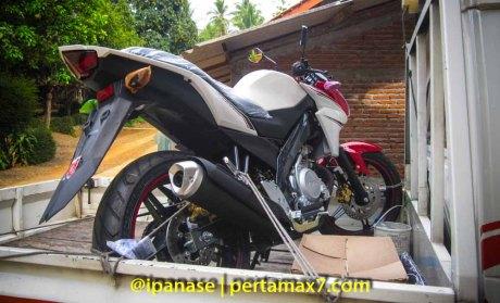 Pertamax7.com pakai Yamaha New Vixion Lightning_
