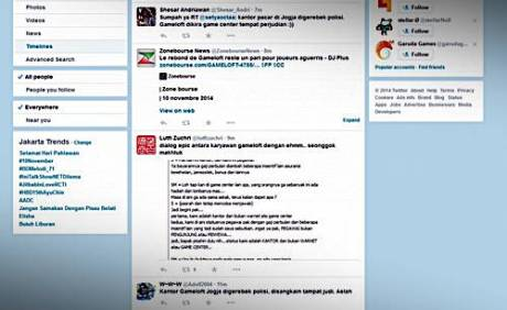 Polisi salah Grebek kantor gameloft dikira judi online 2