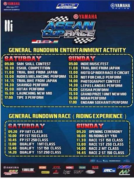 Rundown Launching Yamaha Mio 125 di Sentul