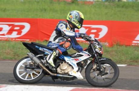 satria F rafid topan juara indoprix bebek 150