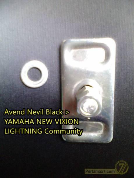 Setelan rantai Yamaha new Vixion patah karena ngawur 0