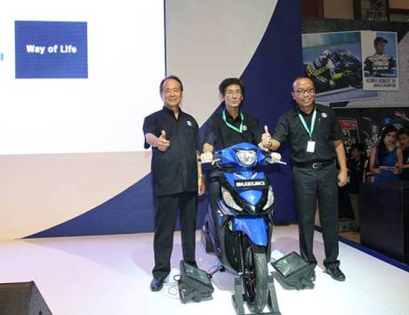 Suzuki Address Launch di IMOS 2014
