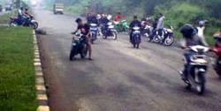 warga pejaten jakarta selatan jadi korban geng motor