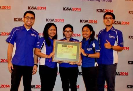 Yamaha Motor Sport dan Yamalube Raih ICSA Award 2014