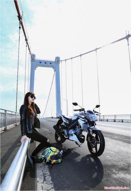 Yamaha New FZ150i with Vietnam Girls 8