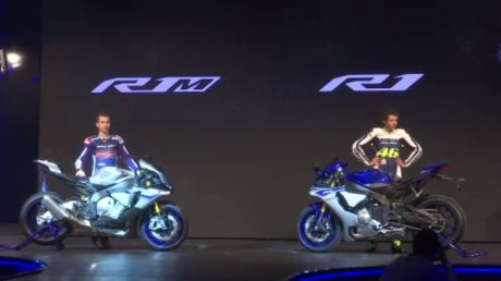 Yamaha R1 M limited edition