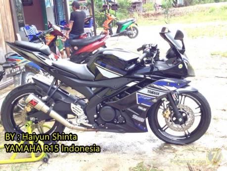 Yamaha R15 pakai striping ala yamaha R25 concept 0