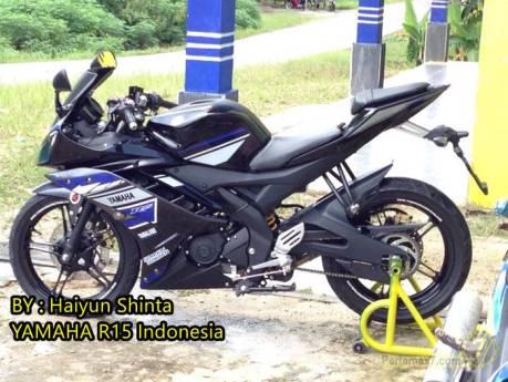 Yamaha R15 pakai striping ala yamaha R25 concept 2