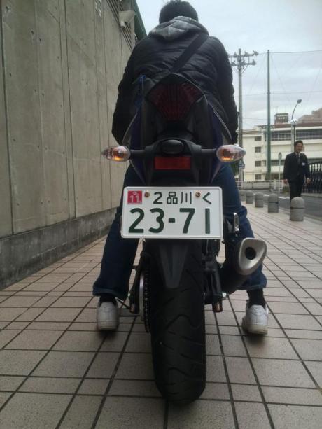 Yamaha R25 Sampai di Japan  pria 162 cm