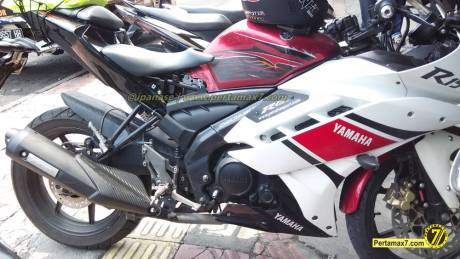 Yamaha Vixion Berjubah R15 pakai buntut R25 0