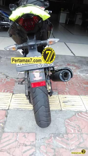 Yamaha Vixion Berjubah R15 pakai buntut R25 2