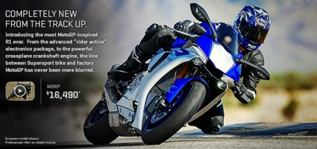 yamaha YZF-R1 2015 price on USA