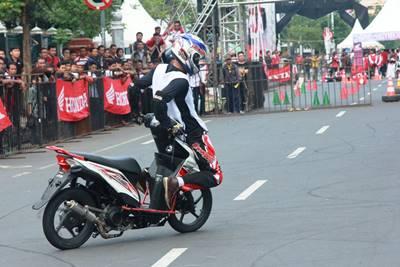 Final Honda CB150R StreetFire City Battle Hadirkan Stunt Rider Terbaik di Indonesia 2