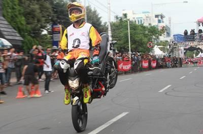 Final Honda CB150R StreetFire City Battle Hadirkan Stunt Rider Terbaik di Indonesia 3