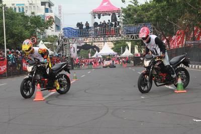 Final Honda CB150R StreetFire City Battle Hadirkan Stunt Rider Terbaik di Indonesia 4
