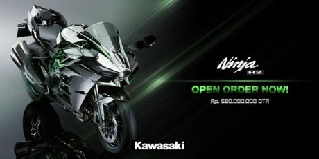 harga kawasaki ninja H2 Indonesia